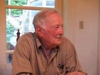 Peter Hallock in Kitchen