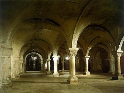 Canterbury crypt