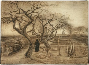 Van Gogh early drawing