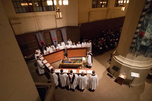 Compline Choir - Advent 2017 (photo: Kevin Johnson)