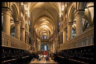 Canterbury Cath interior