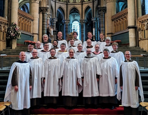 Compline Choir at Canterbury Cathedral
