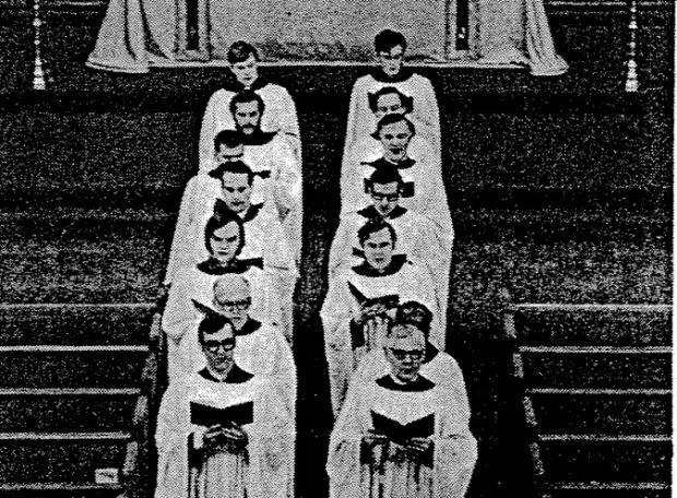 Compline Choir 1969