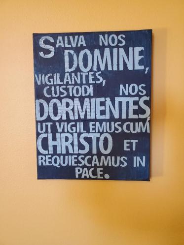 Salva nos Domine (art by Sonja Peterson Jensen)