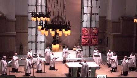 Compline Choir, June 6, 2021