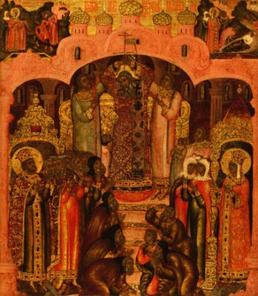Feast of the Cross Icon