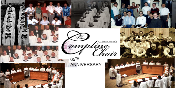 Compline at St. Mark's Cathedral (1956-2021) - 65 Years