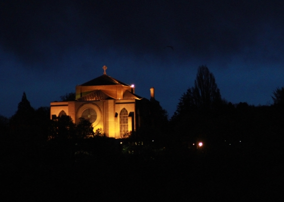 St. Mark's Cathedral at night (Don Clapp)